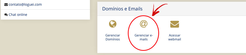 criar email profissional